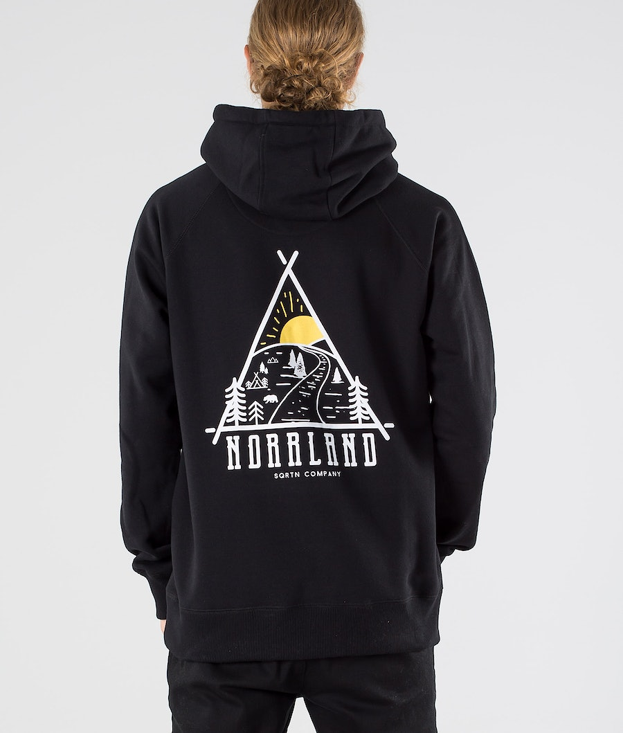SQRTN Traingle Hood Black