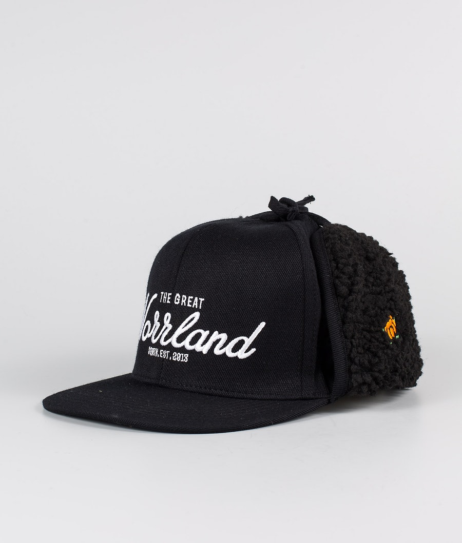 SQRTN Östersund Cap Black