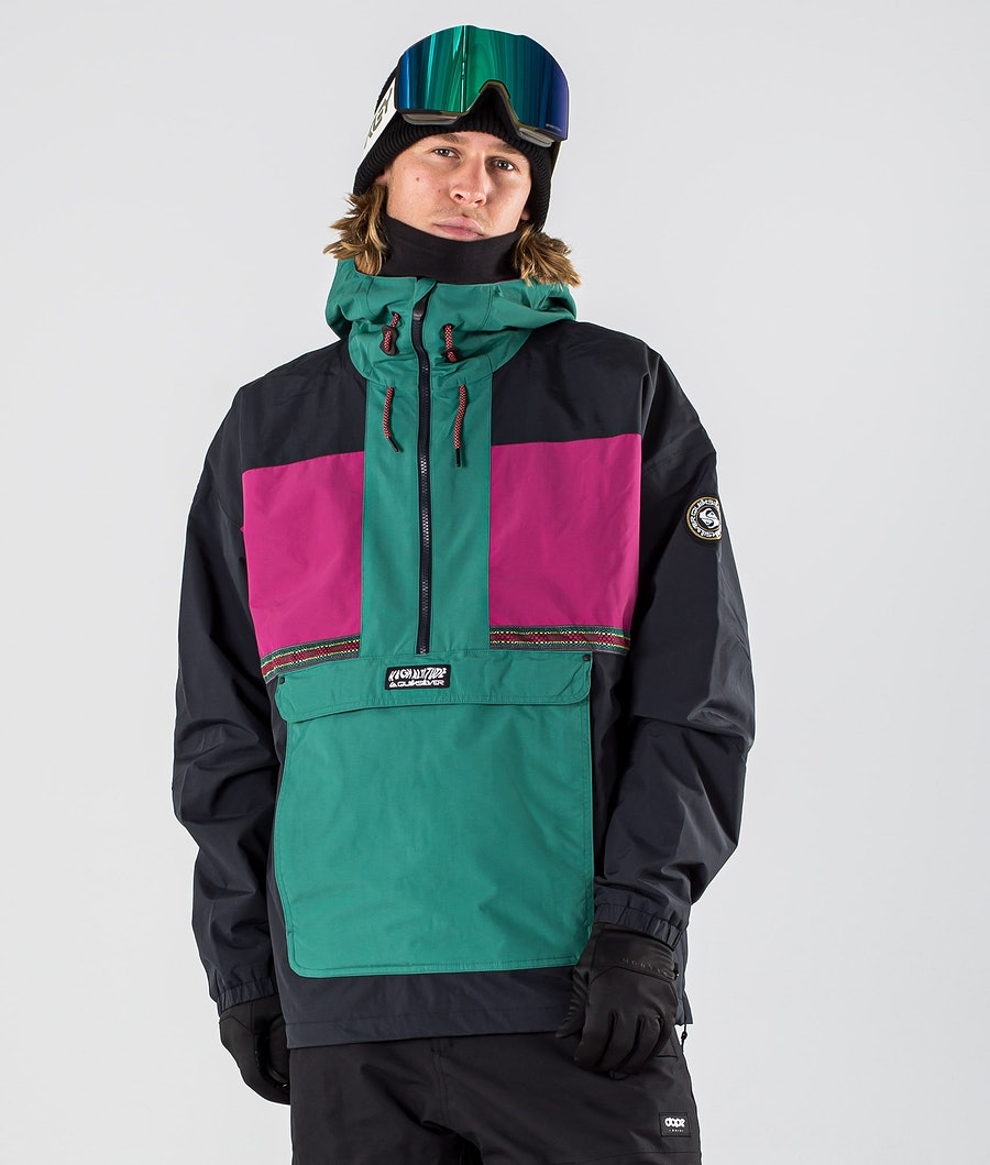 Quiksilver Dome Snowboard Jacket Antique Green