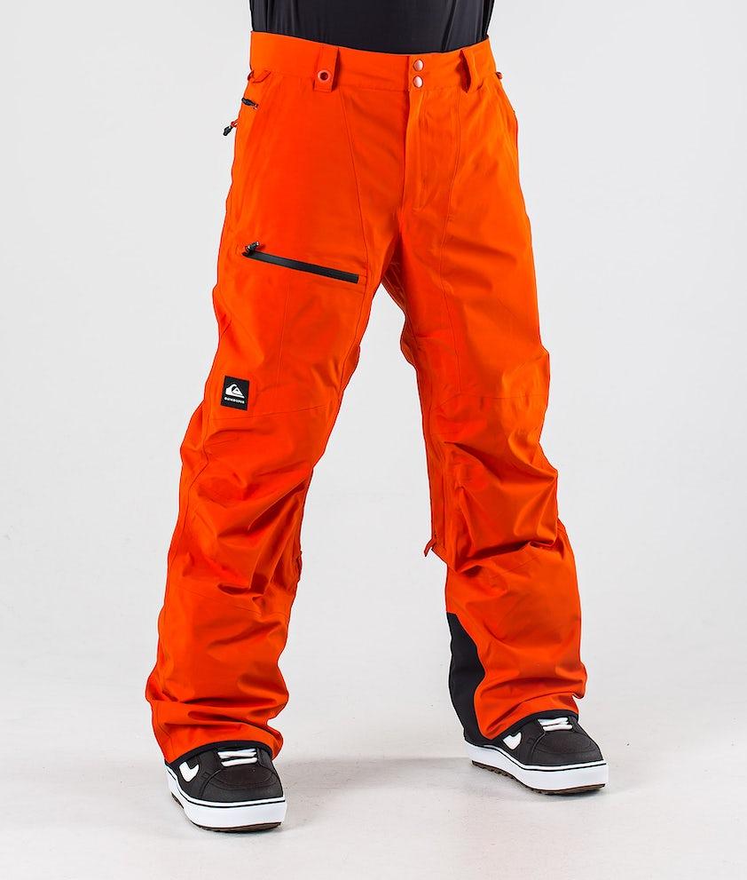Quiksilver Forever 2L Gore-Tex Pantaloni da Snowboard Pureed Pumpkin