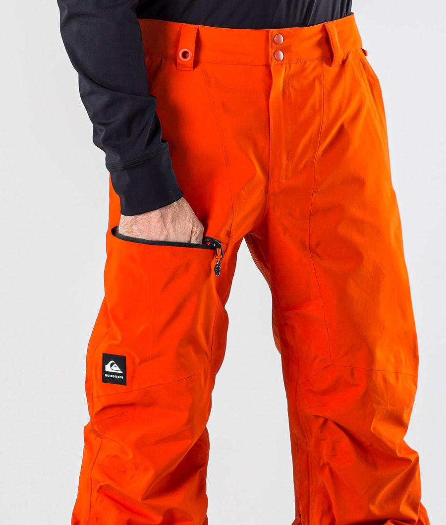 Quiksilver Forever 2L Gore-Tex Snowboard Pants Pureed Pumpkin