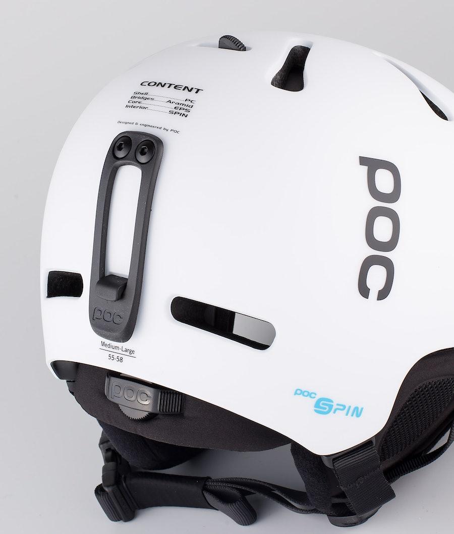 Poc Fornix SPIN Skihjelm Hydrogen White