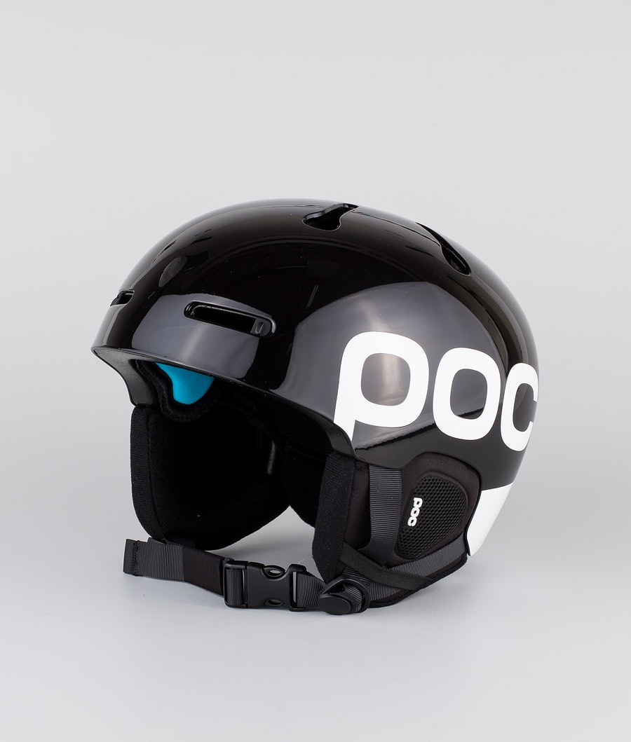 Poc Auric Cut Backcountry SPIN Ski Helmet Uranium Black