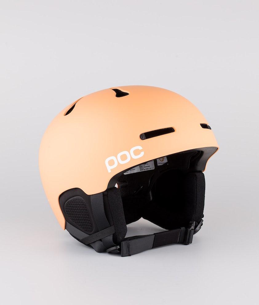 Poc Auric Cut Skihjelm Light Citrine Orange