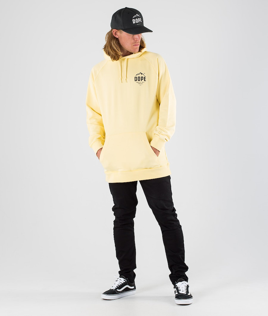 Dope Paradise II Hood Faded Yellow