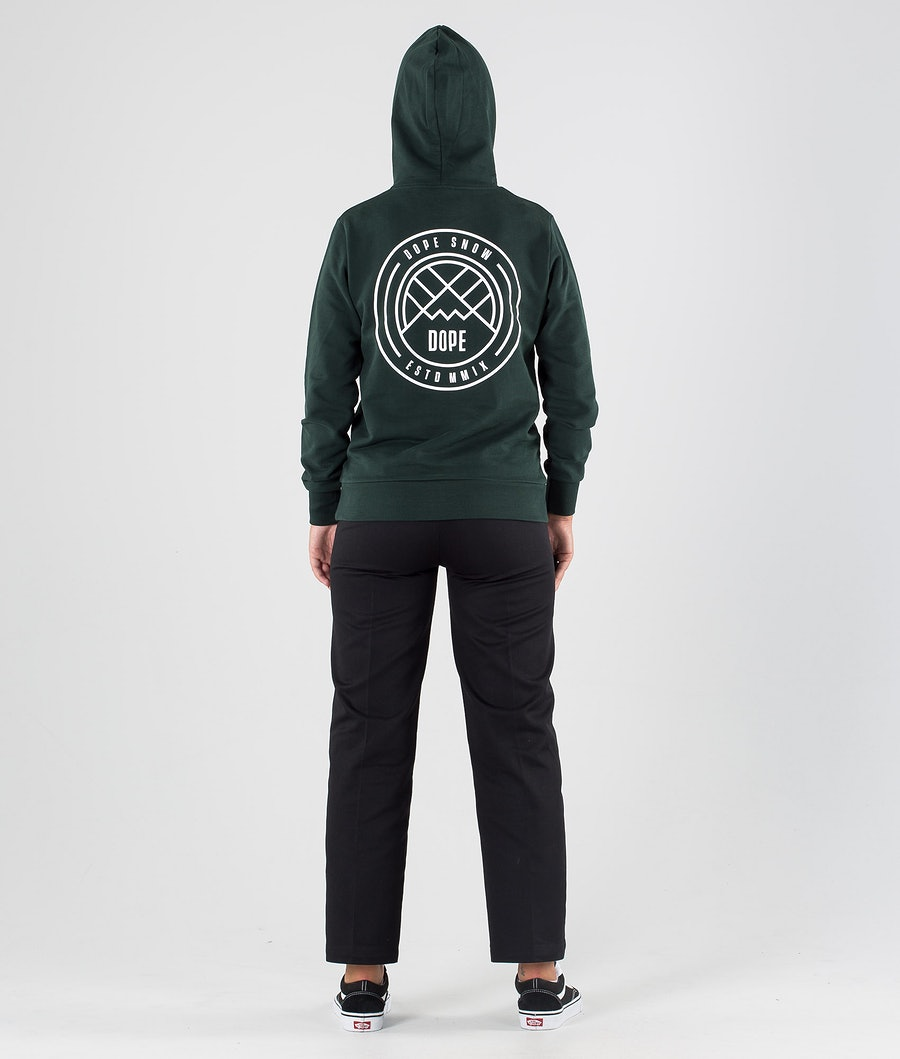 Dope Copain Lines Women's Hoodie Royal Green