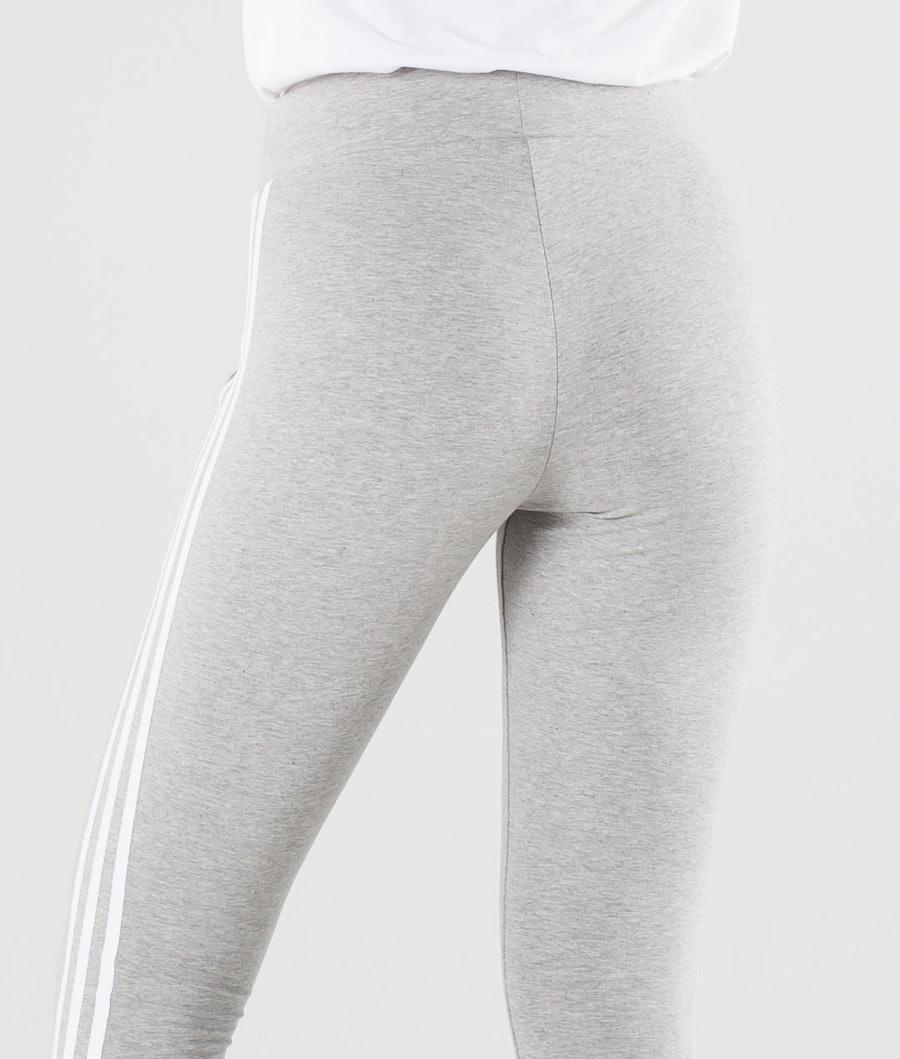 Adidas Originals 3 Stripes Leggings Donna Medium Grey Heather/White