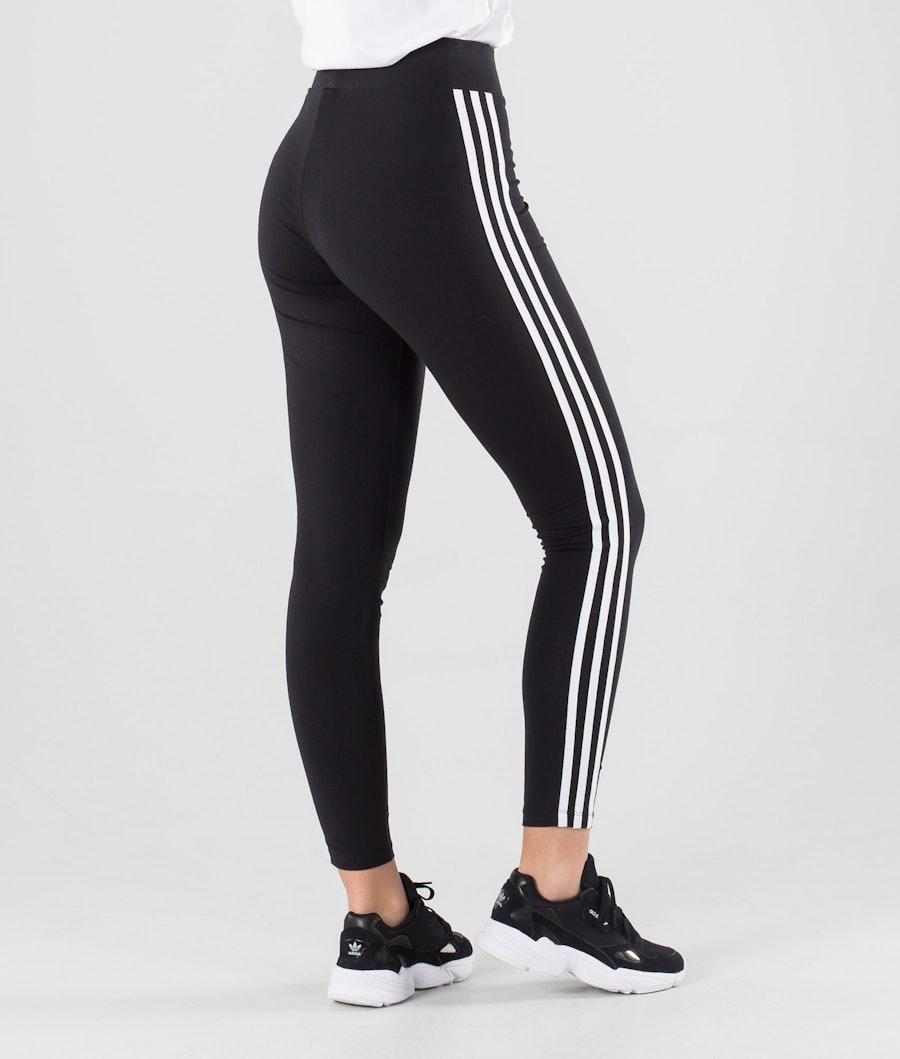 Adidas Originals 3 Stripes Leggings Femme Black/White