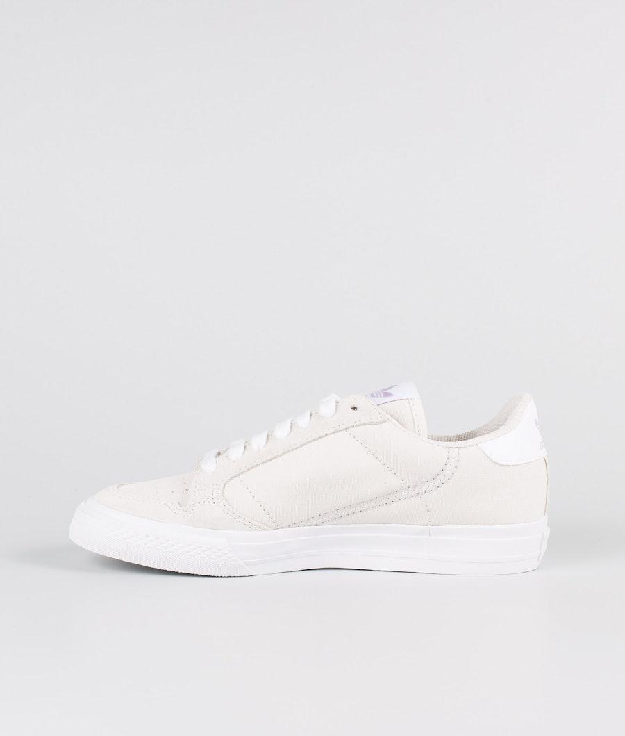 Adidas Originals Continental Vulc Scarpe Donna Semi Flash Red/Footwear White/Footwear White