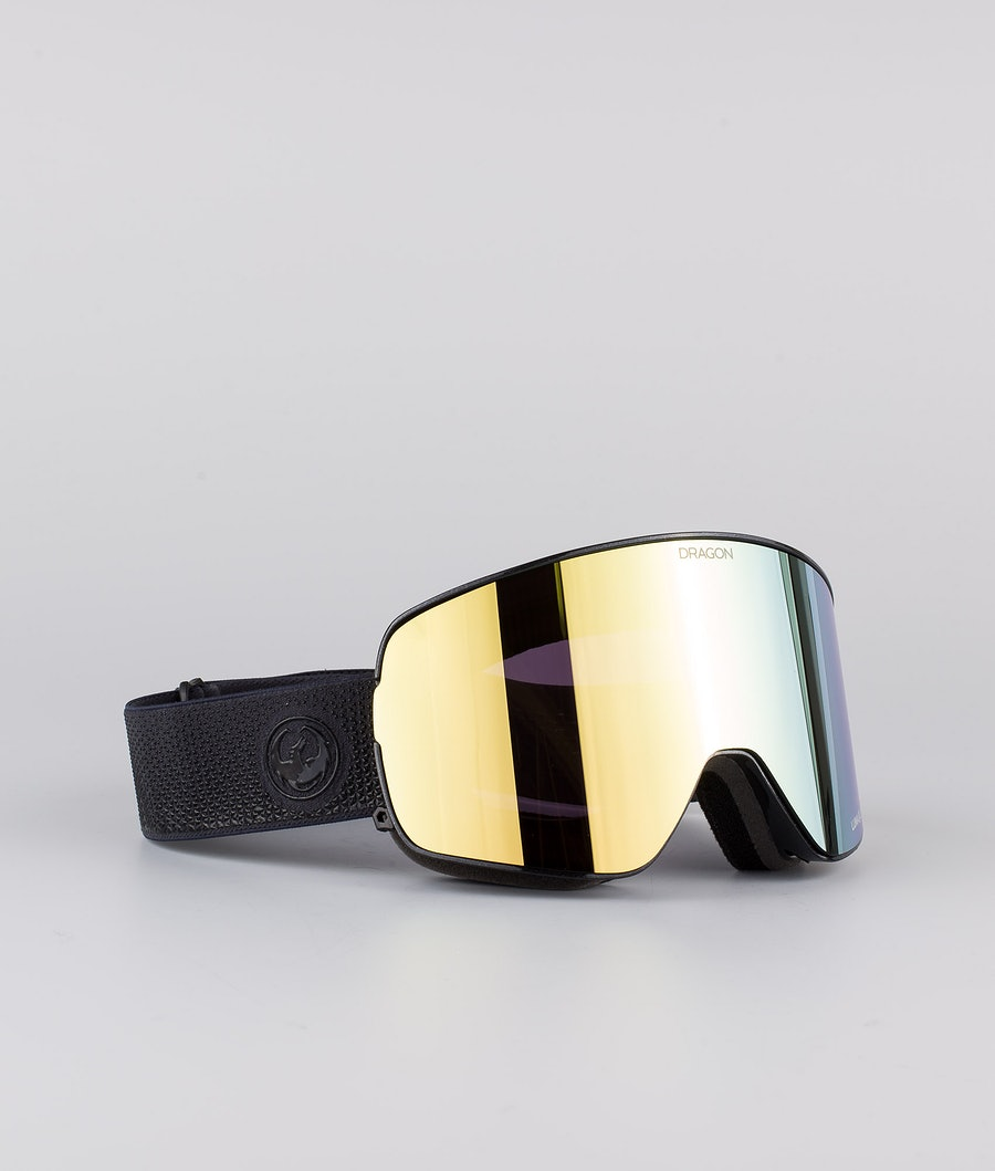 Dragon NFX2 Skibrille Anthracite w/Lumalens Gold Ionized+Lumalens Amber