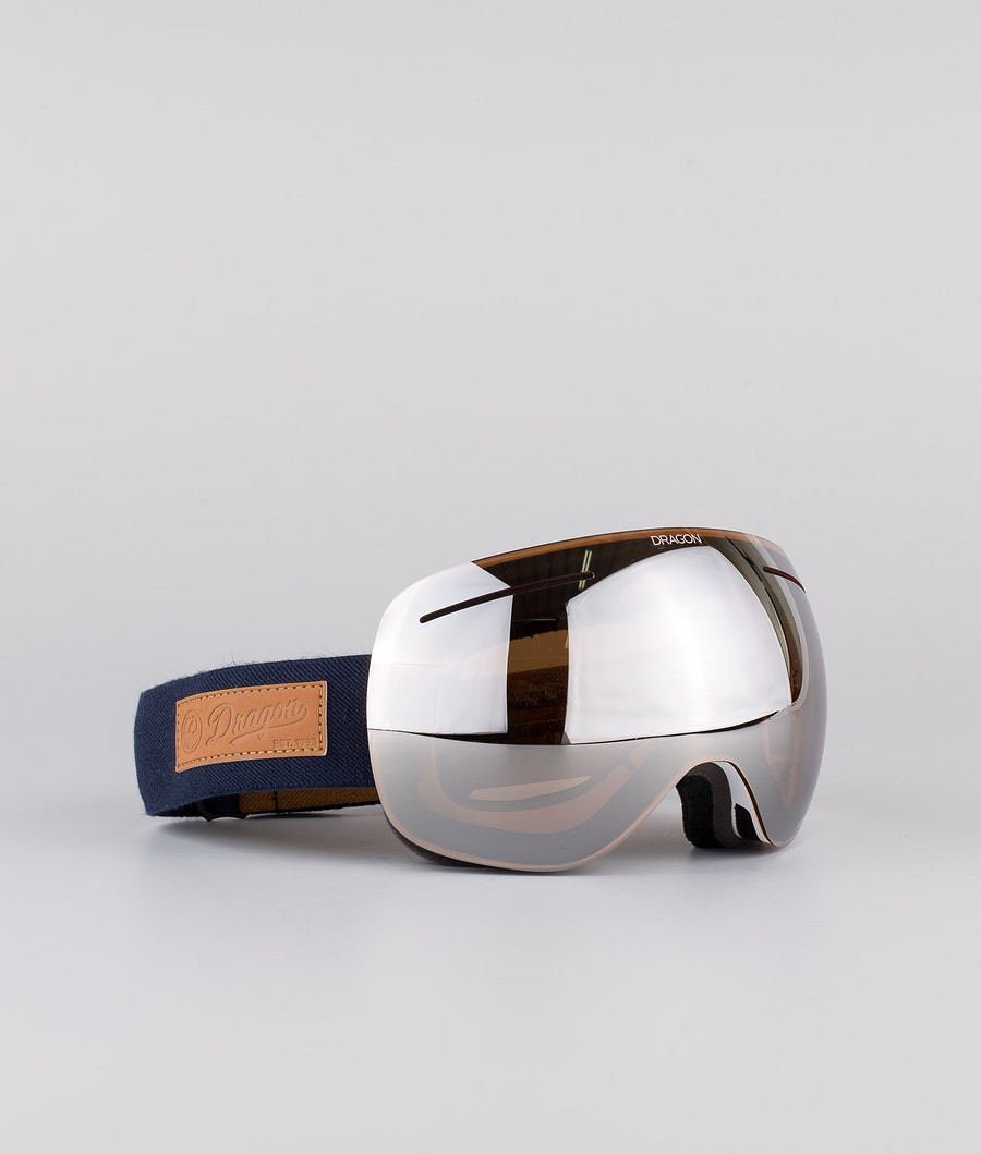 Dragon X1 Skibriller Coyote w/Lumalens Silver Ionized+Lumalens Violet