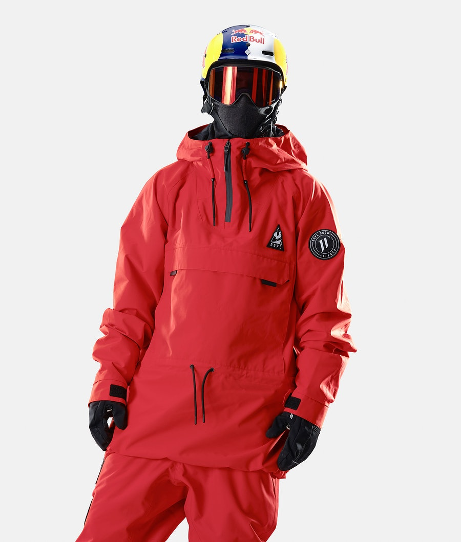 Dope JT Annok Ski Jacket Red