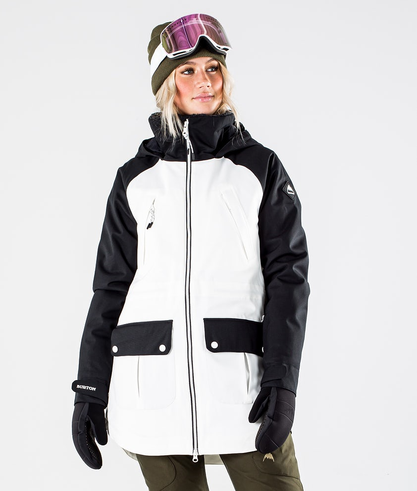 Burton Prowess Snowboardjakke True Black/Stout White