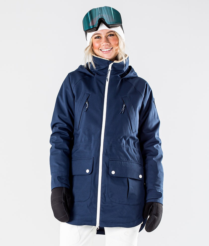 Burton Prowess Snowboard Jacket Dress Blue