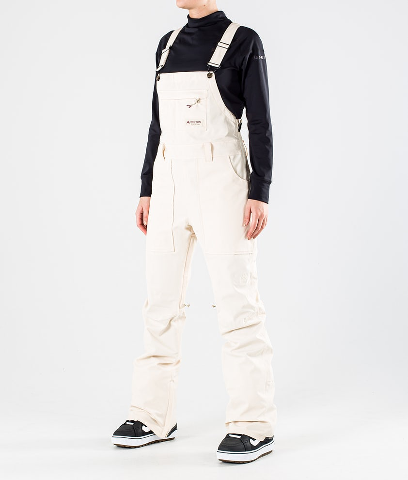 Burton Avalon Bib Snowboard Pants Creme Brulee