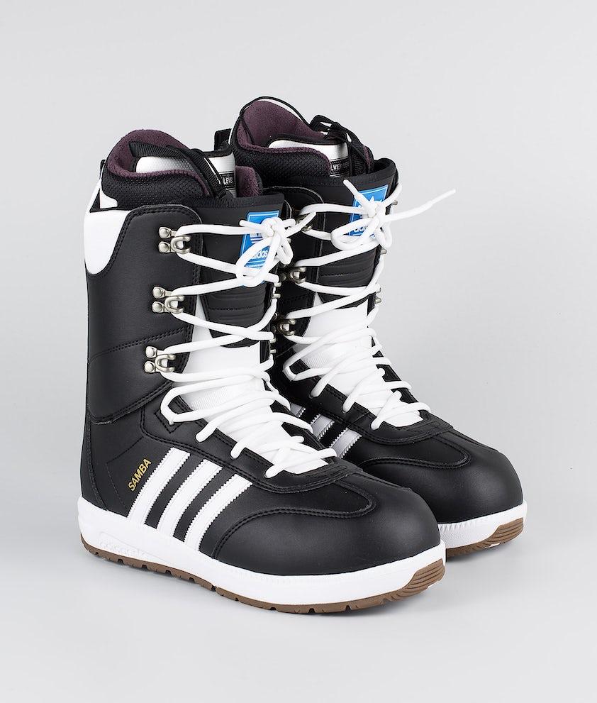 Adidas Snowboarding Samba Adv Boots Snowboard Core Black/Footwear White/Gold Met