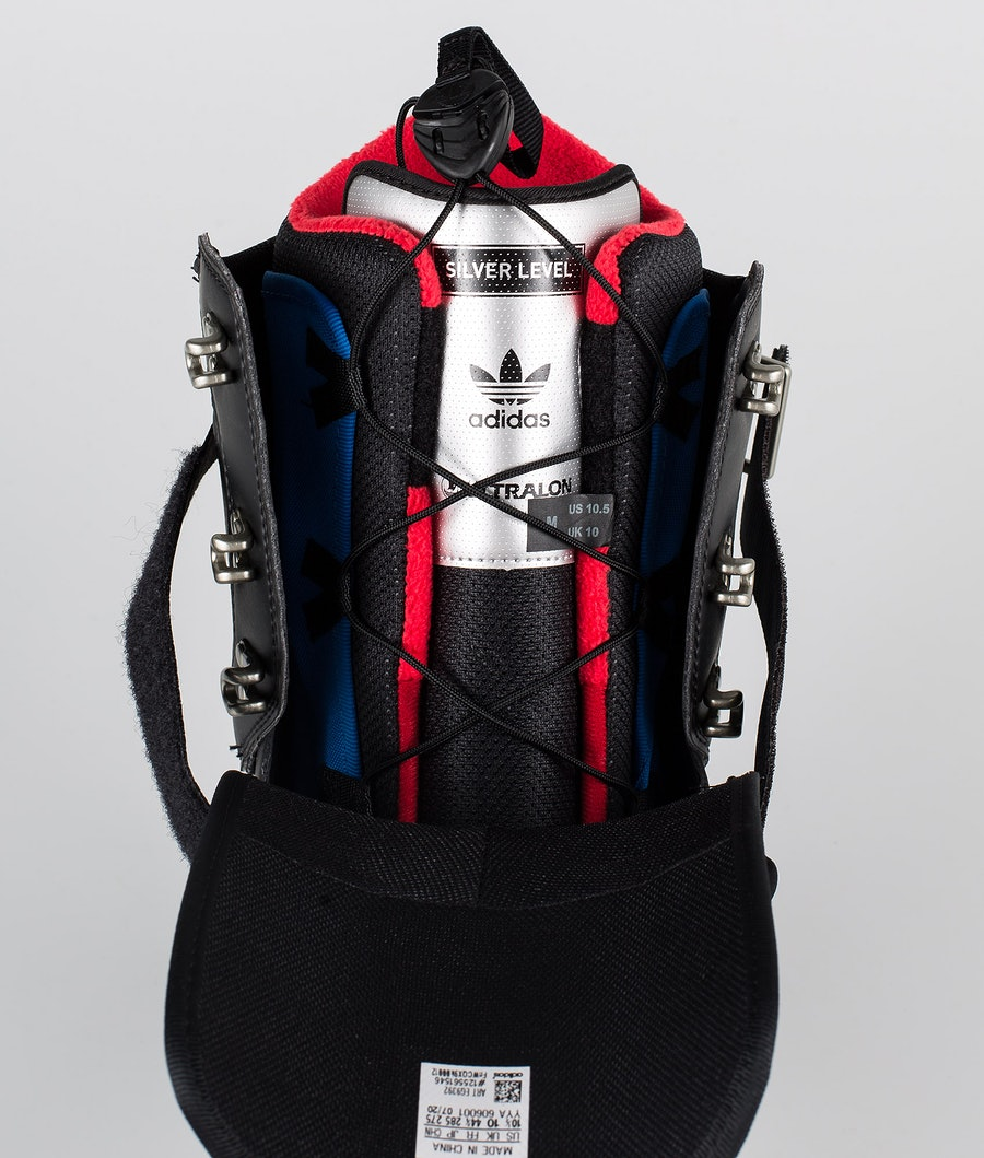 Adidas Snowboarding Superstar Adv Snowboard Boots Core Black/Mineral Grey/Scarlet