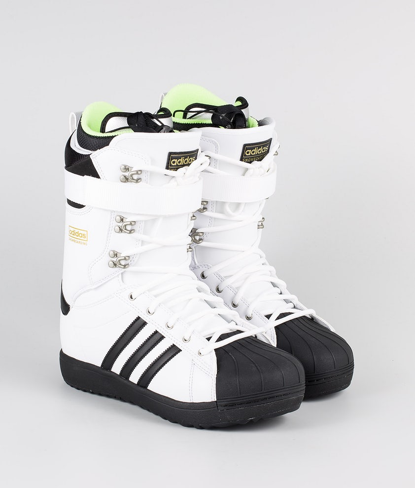 Adidas Snowboarding Superstar Adv Boots Snowboard Footwear White/Core Black/Gold Met