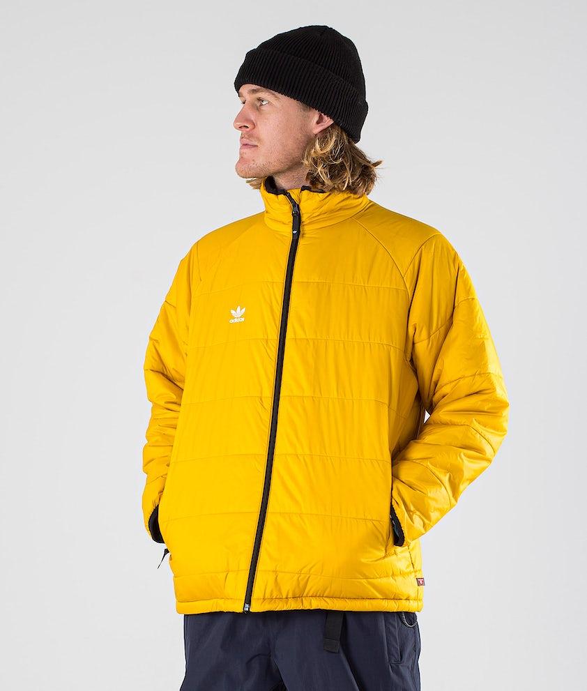 Adidas Snowboarding Midlayer Jacka Legacy Gold/Mineral Grey/White