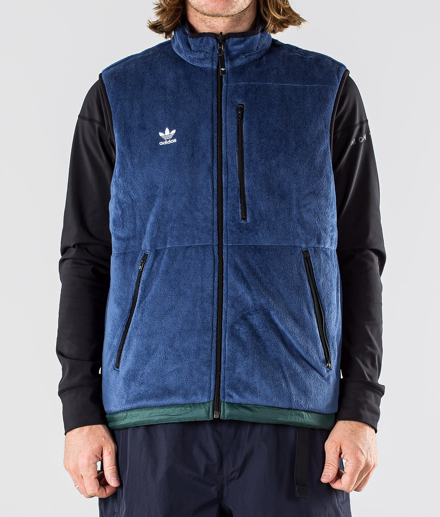 Adidas Snowboarding Meade Pro Gilet Mystery Ink/Mineral Green