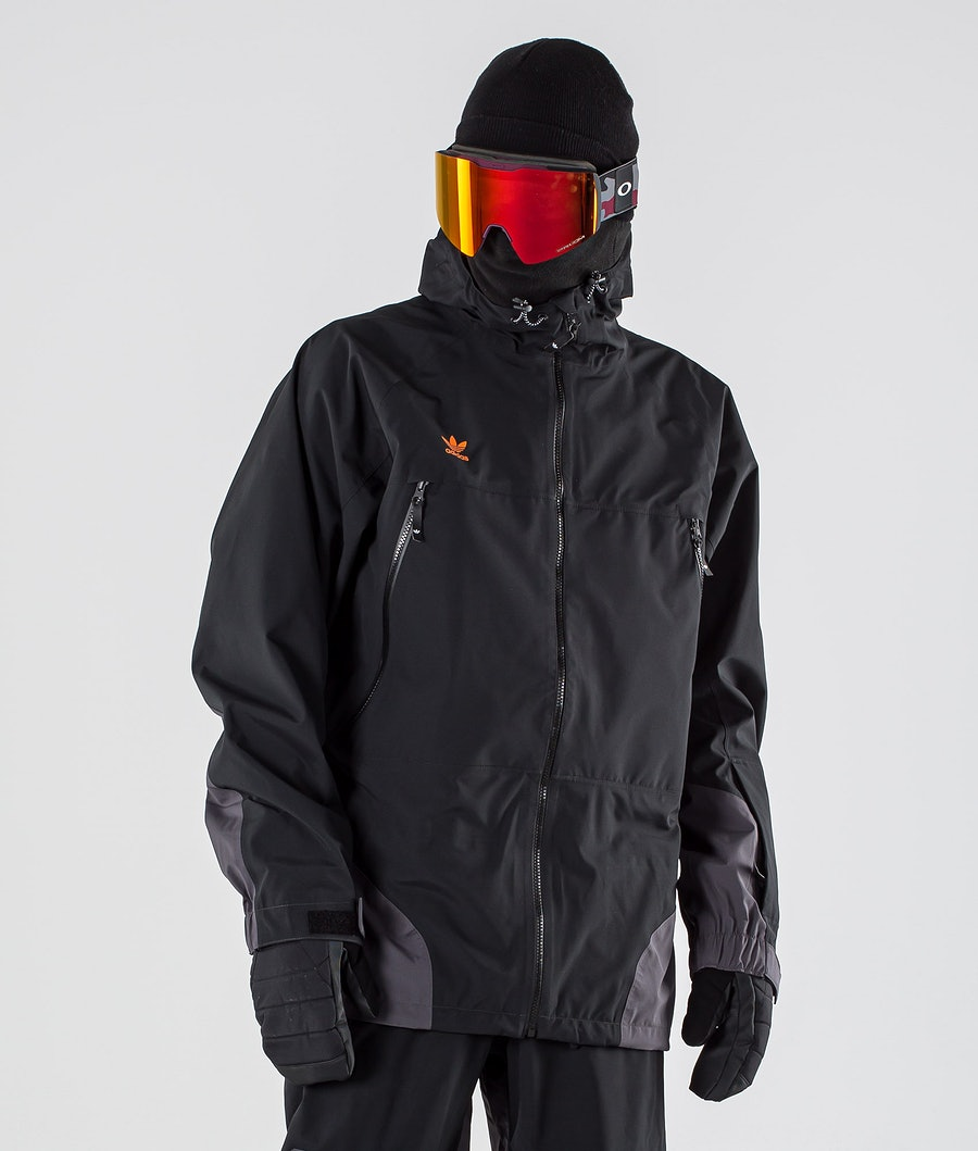 Adidas Snowboarding 3L 20K Snowboardjacke Black/Utility Black/Orange