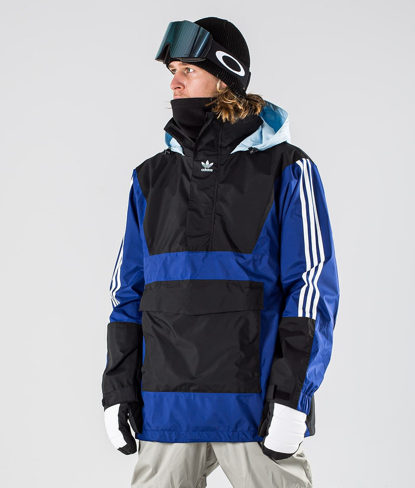 Adidas Snowboarding Anorak 10K Snowboard Jacket Mystery Ink/Black/Ice Blue