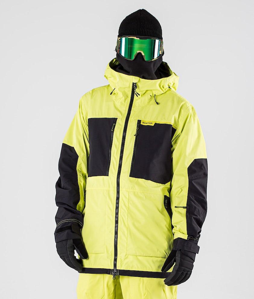 Burton Frostner Snowboardjacka Limade/True Black