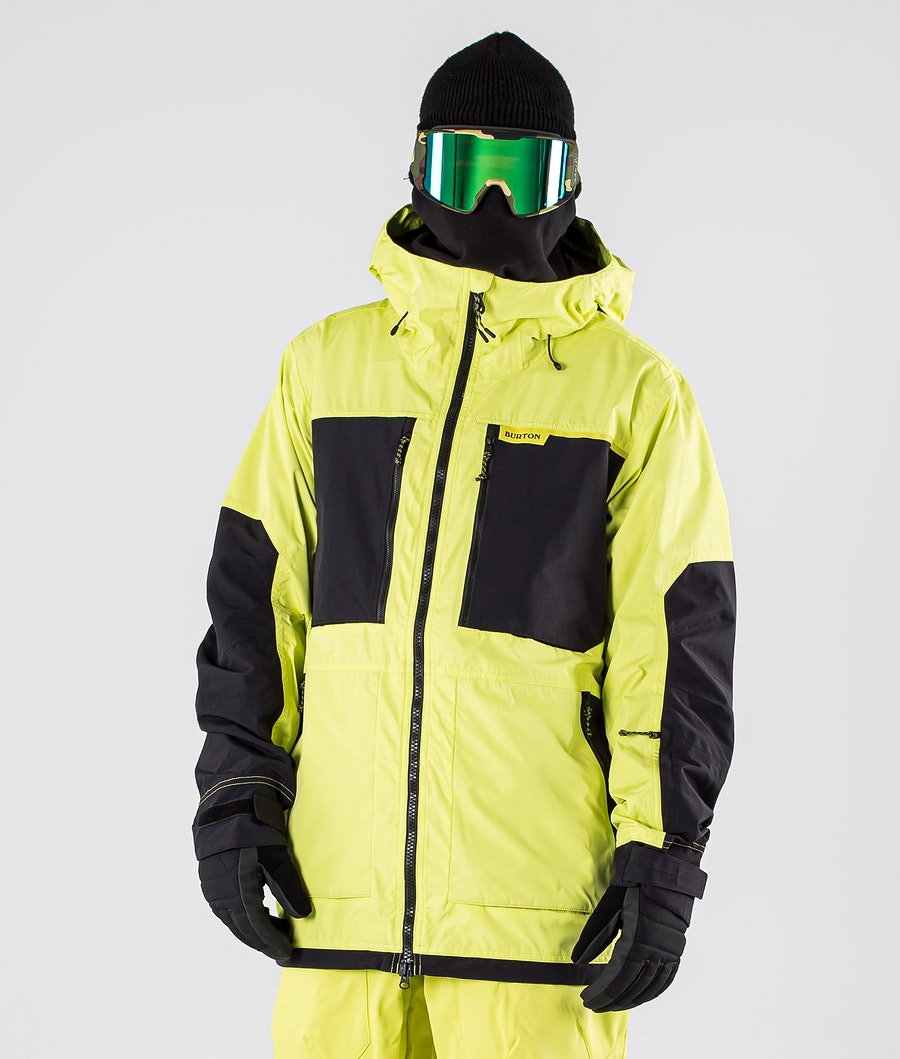 Burton Frostner Snowboard Jacket Limade/True Black