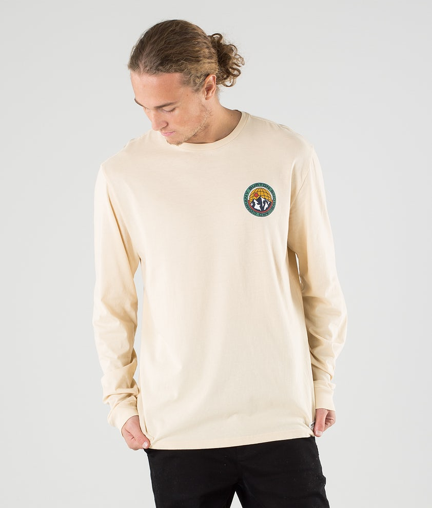 Burton Walgrove T-shirt Manches Longues Creme Brulee