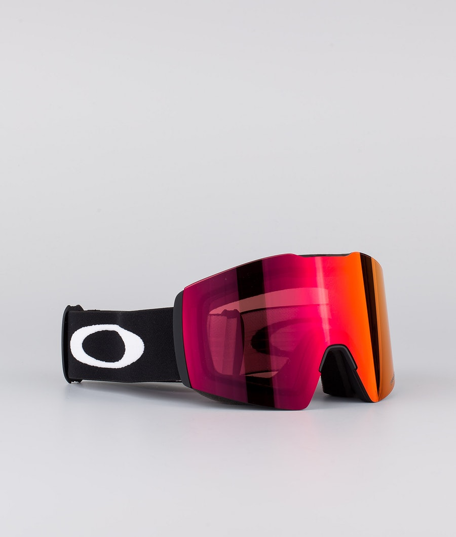 Oakley Fall Line XL Skibril Black With Prizm Snow Torch Iridium Lens