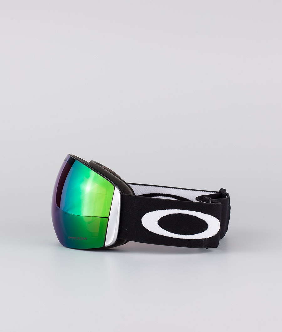 Oakley Flight Deck XL Skibril Matte Black With Prizm Snow Jade Lens