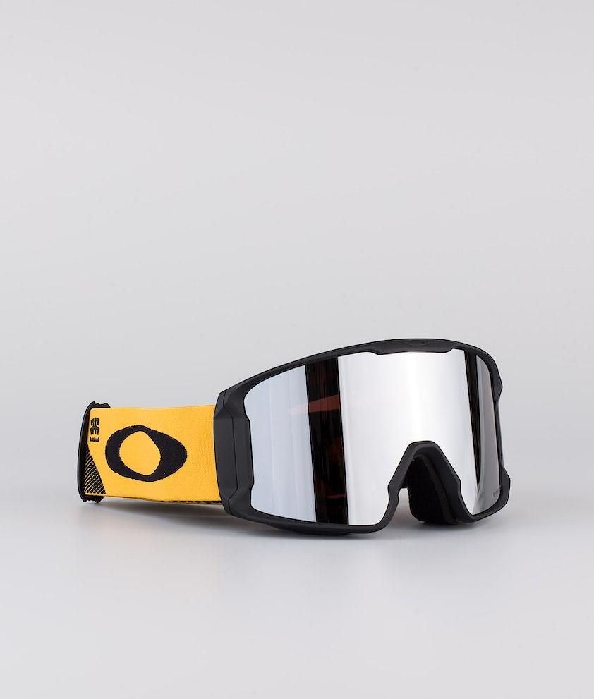 Oakley Line Miner XL Skibriller Henrik Harlaut Sig Blacknyello With Prizm Snow Black Lens