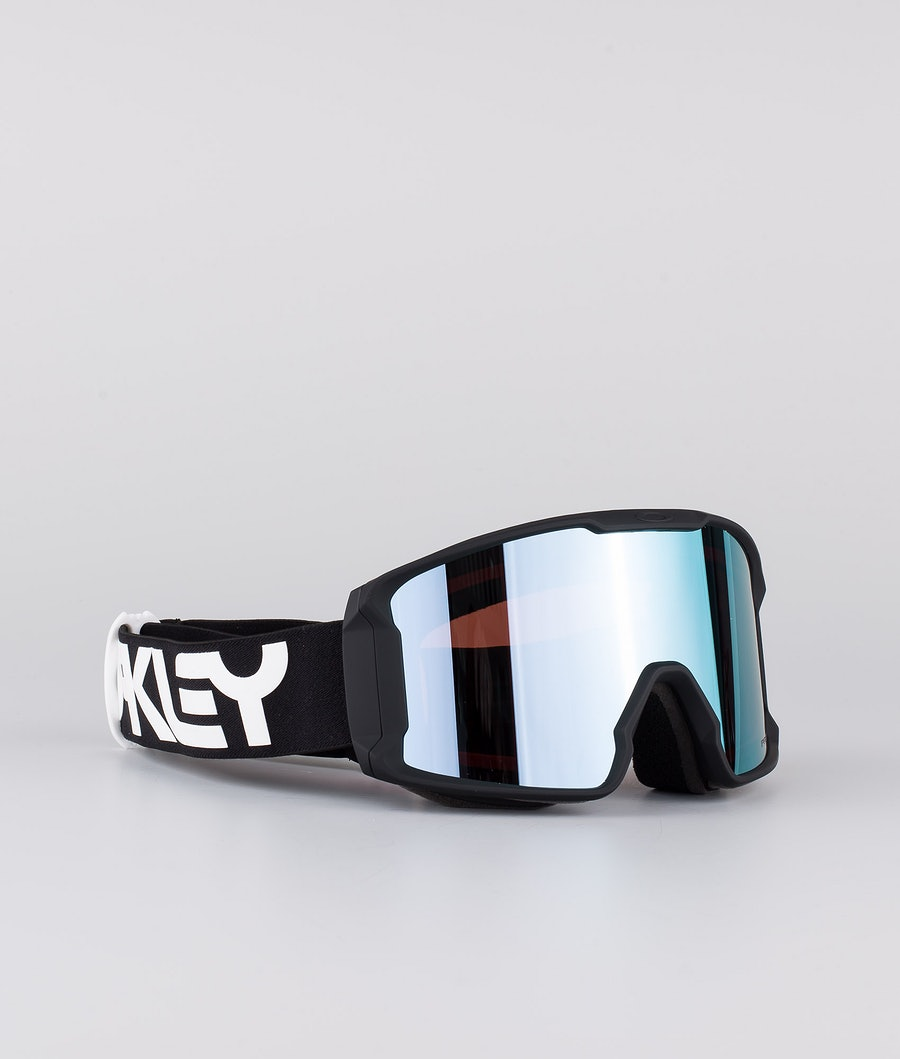 Oakley Line Miner XM Skibril Factory Pilot Black With Prizm Snow Sapphire Lens