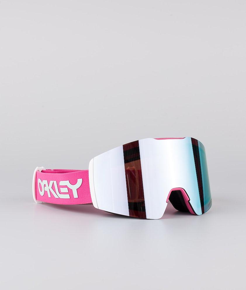 Oakley Fall Line XM Skidglasögon Factory Pilot Rubine Jasmine With Prizm Snow Sapphire Lens