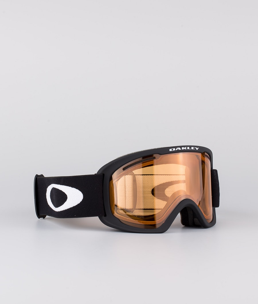 Oakley O Frame 2.0 Pro XL Masque de ski Black With Persimmon & Dark Grey Lens