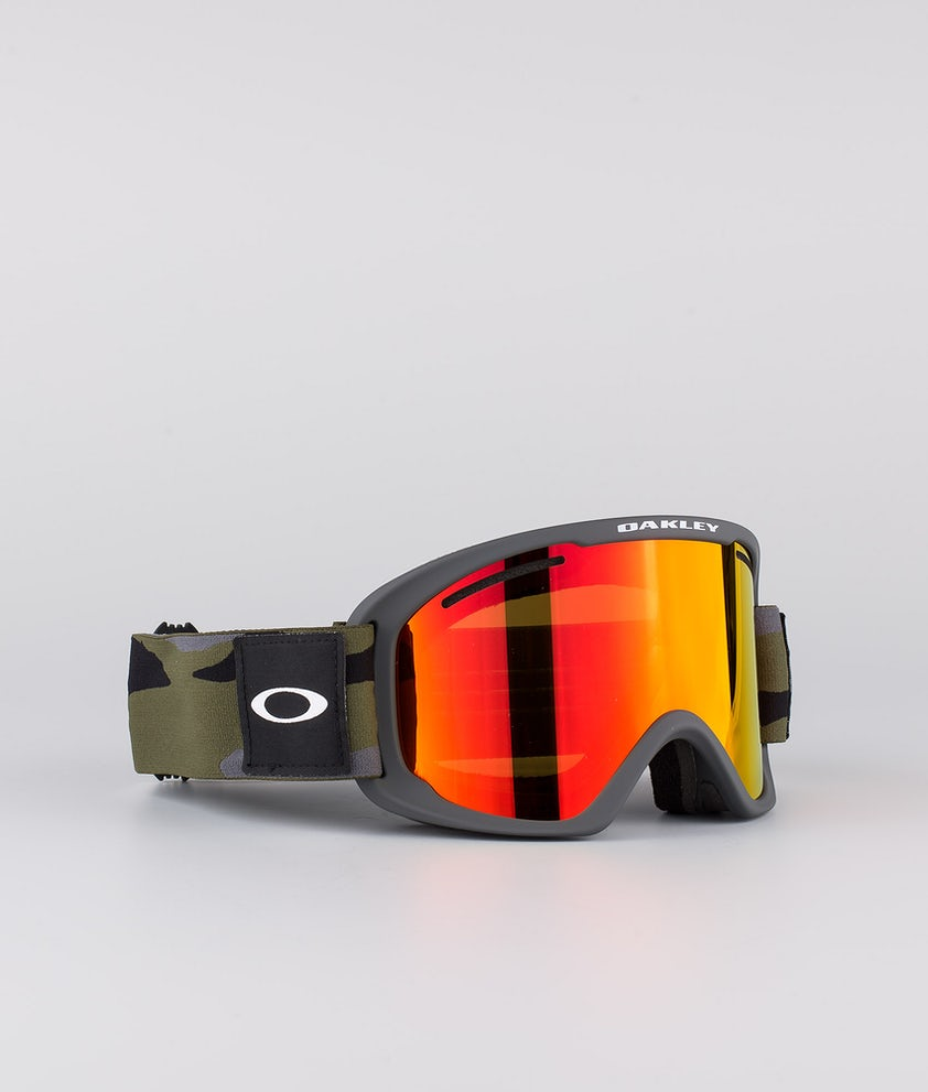 Oakley O Frame 2.0 Pro XL Skibriller Dark Brush Camo With Fire Iridium & Persimmon Lens
