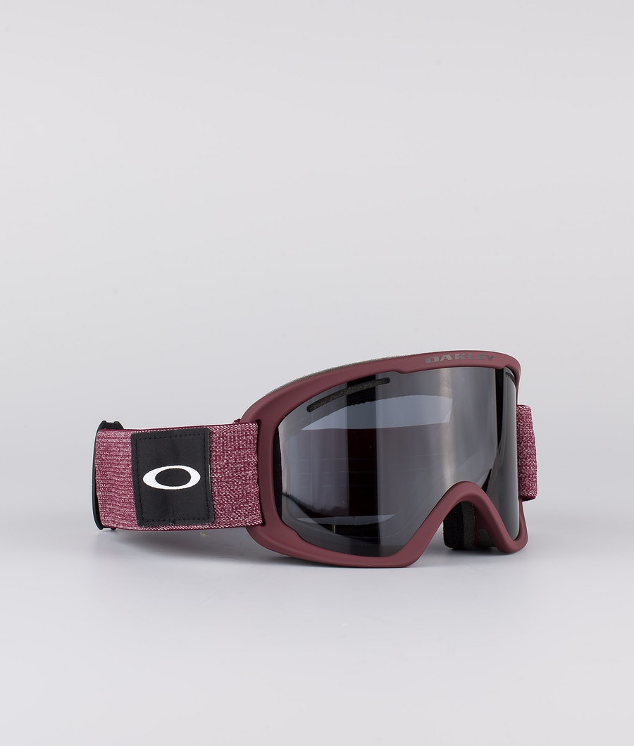 Oakley O Frame 2.0 Pro XL Skibril Heathered Grenache With Dark Grey & Persimmon Lens