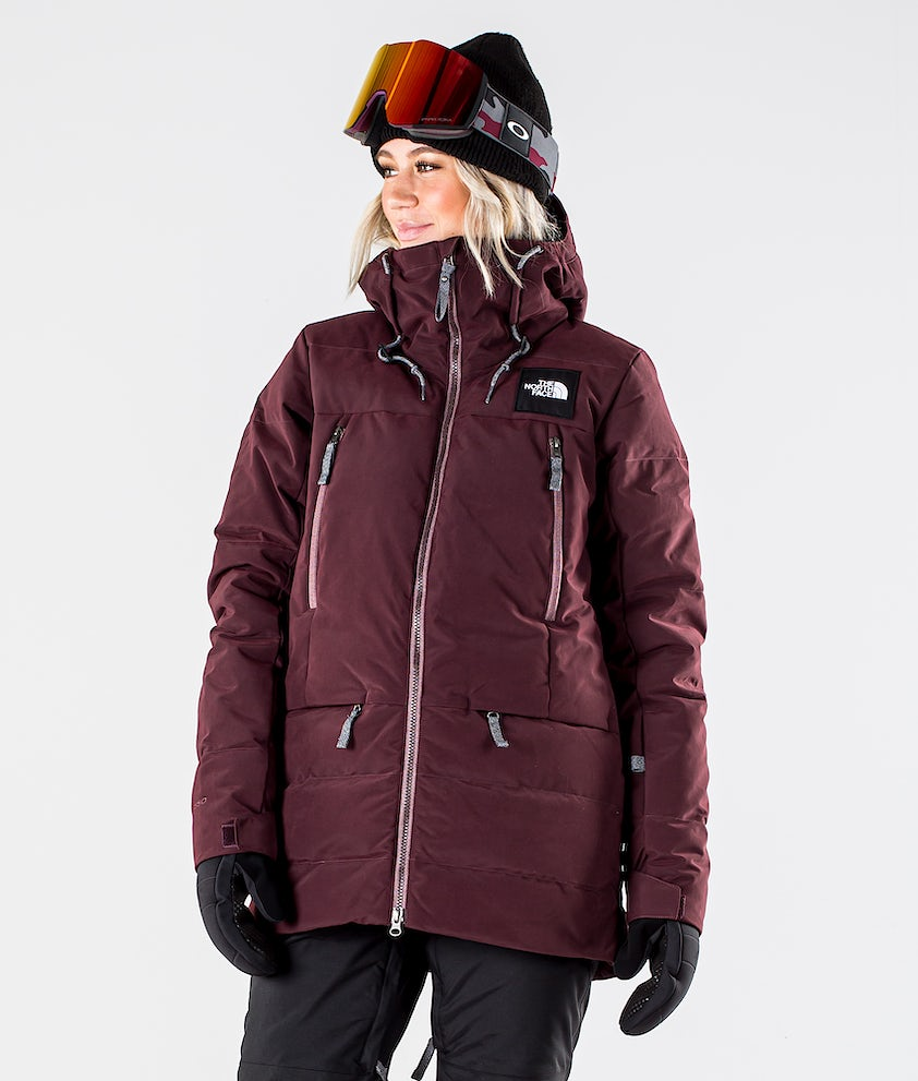 The North Face Pallie Down Snowboard Jacket Root Brown