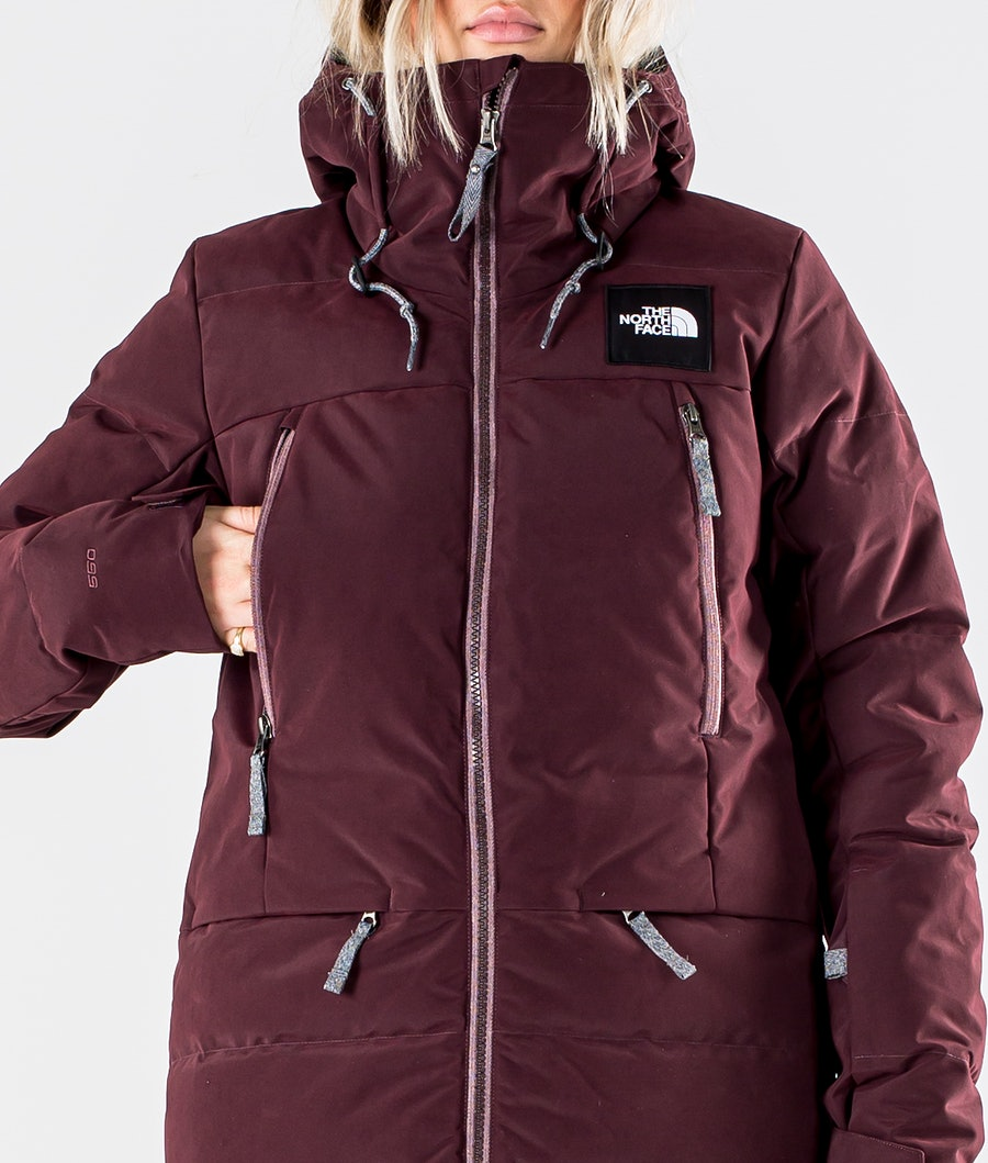 The North Face Pallie Down Snowboardjacka Dam Root Brown