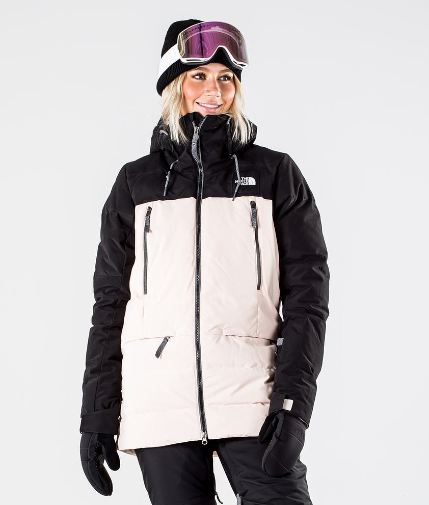 The North Face Pallie Down Snowboardjacka Tnf Black/Morning Pink