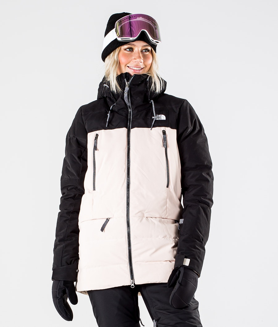 The North Face Pallie Down Giacca da Snowboard Tnf Black/Morning Pink