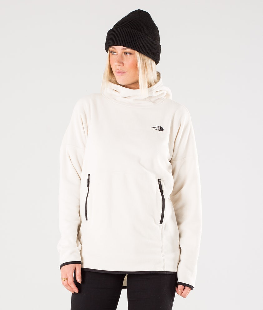 The North Face TKA Glacier Pullover Hood Vintage White