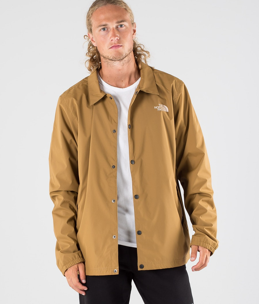 The North Face Walls Are Meant For Climbing Coaches Jacke Utility Brown