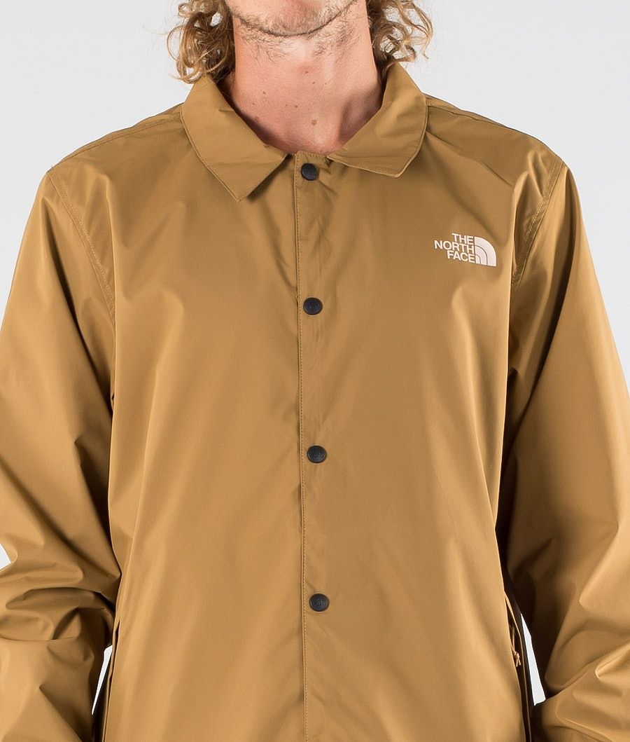 The North Face Walls Are Meant For Climbing Coaches Jakke Utility Brown