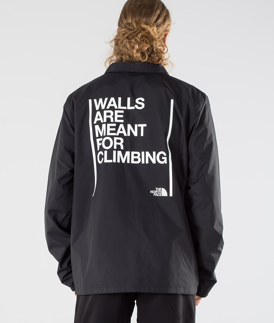 The North Face Walls Are Meant For Climbing Coaches Jacka Tnf Black