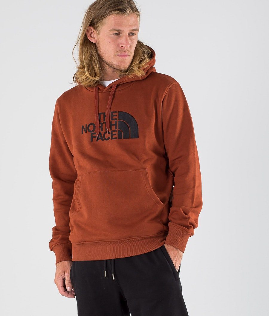 The North Face Drew Peak Huppari Brandy Brown/Tnf Black