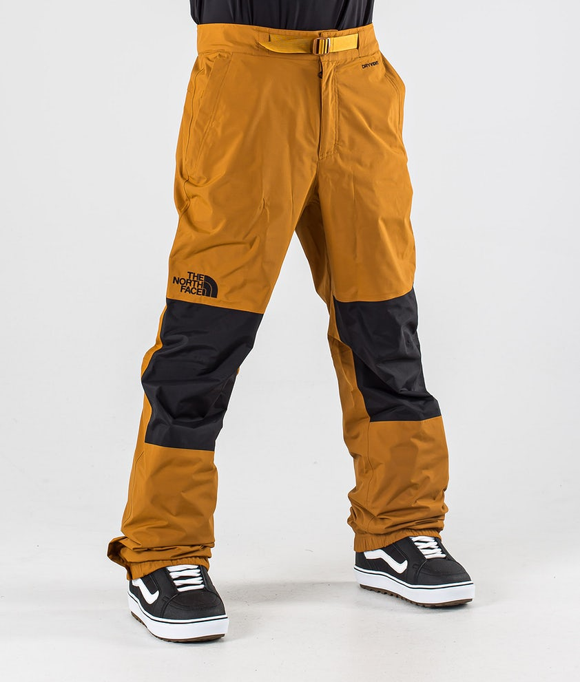 The North Face Up & Over Snowboard Pants Timber Tan/Tnf Black