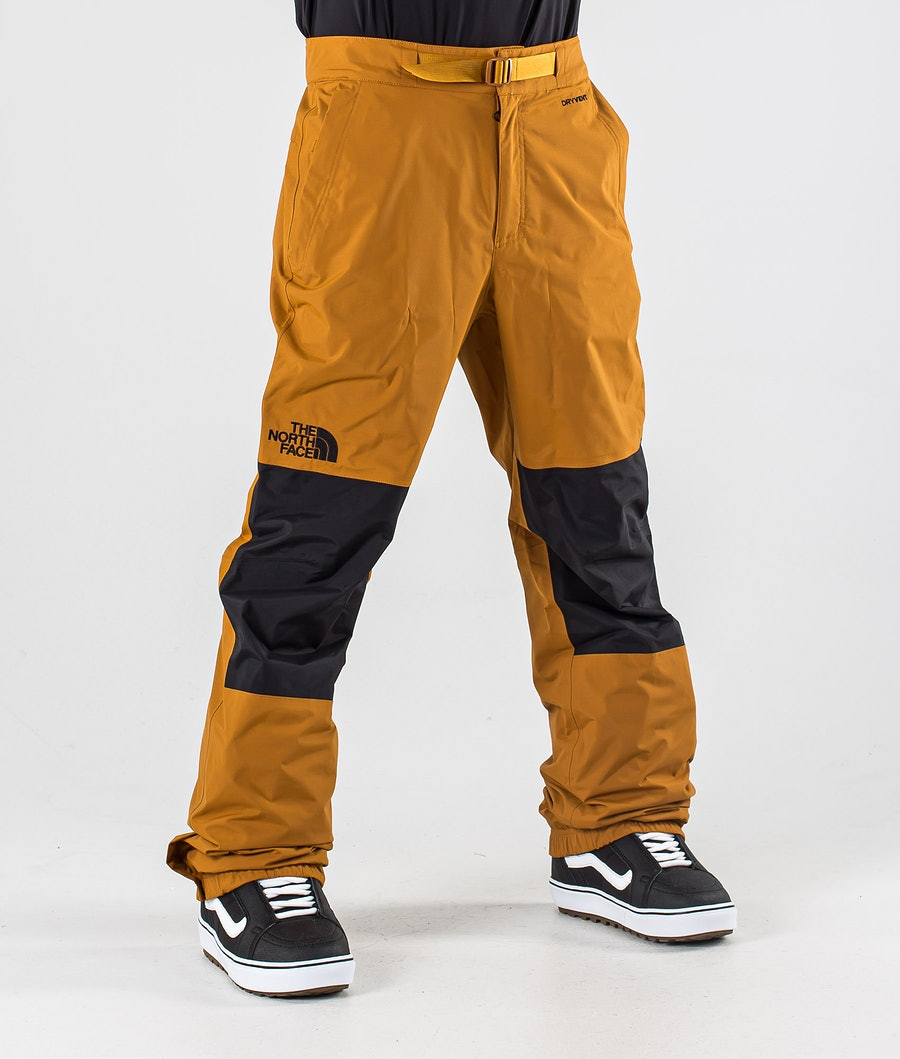 The North Face Up & Over Snowboardhose Timber Tan/Tnf Black
