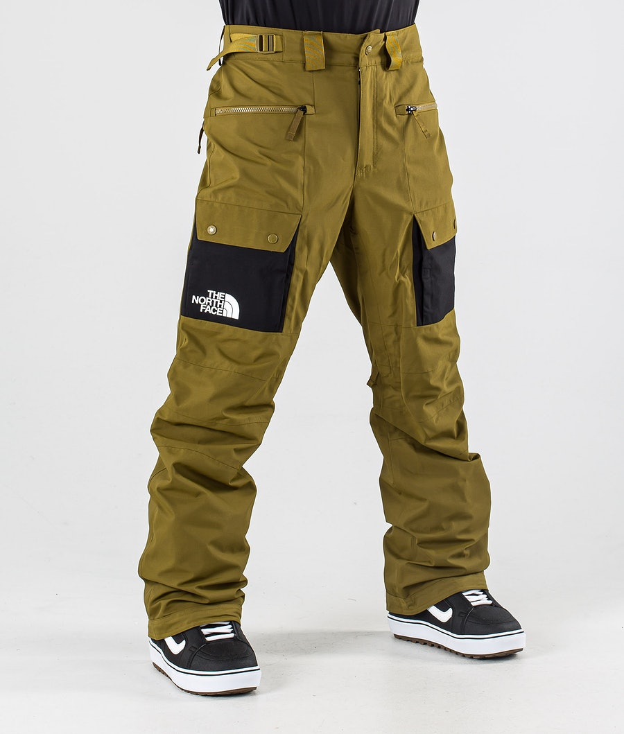 The North Face Slashback Cargo Snowboard Pants Fir Green/Tnf Black