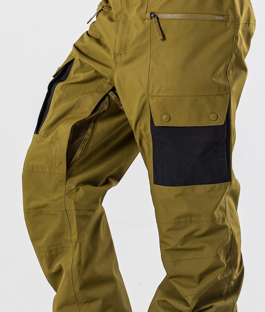 The North Face Slashback Cargo Snowboardbyxa Fir Green/Tnf Black